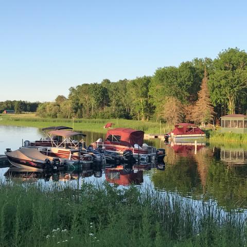 Northwest Angle, Minnesota, lake, boat, cabin (Credit: Credit: Kristin Vuković)