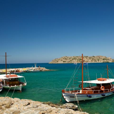 Spinalonga, Greece, boats (Credit: Credit: Elizabeth Warkentin)