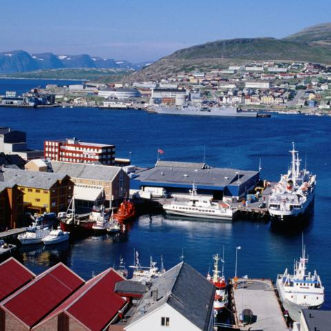Hammerfest, Norway (Credit: Credit: James D. Morgan/Getty Images)