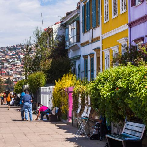 Chile, Valparaiso (Credit: Credit: Matthew Williams-Ellis/Getty Images)