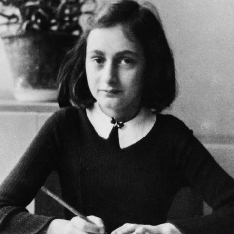 Anne Frank exchanged letters with a young girl from Iowa (Credit: Credit: ullstein bild Dtl./Getty Images)