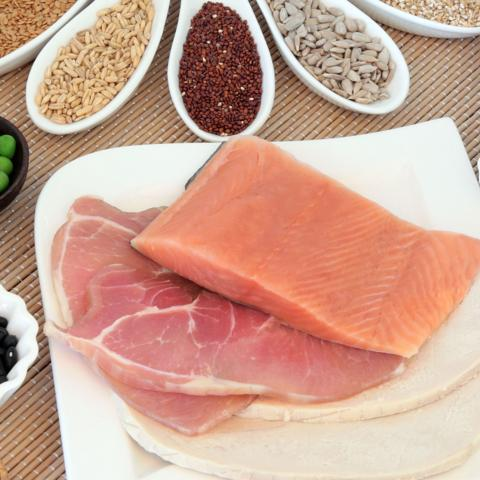 Protein food Getty Images 507461706