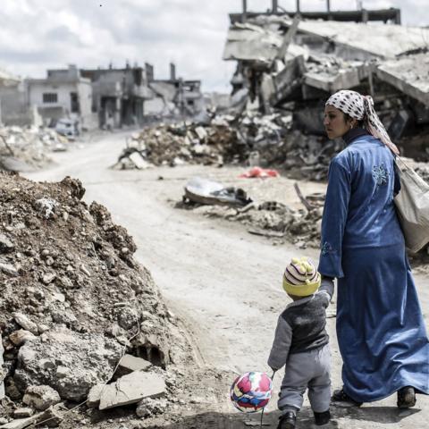 Syria ruin