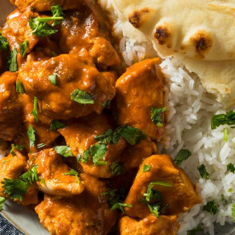 Many of the ingredients that go into typical 'Indian' food aren't native to India (Credit: Brent Hofacker/Alamy)