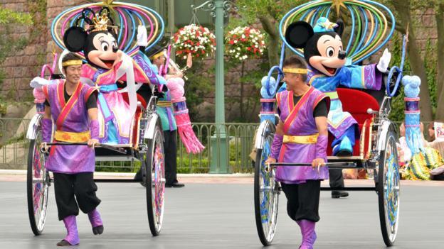 Bbc Travel Different Disneylands Around The World