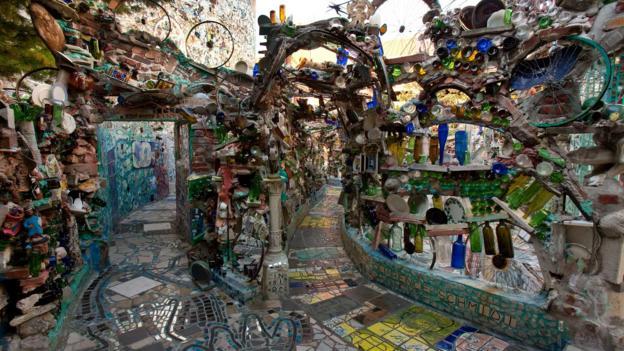 Bbc Travel Trash To Treasure The Mosaics Of Isaiah Zagar