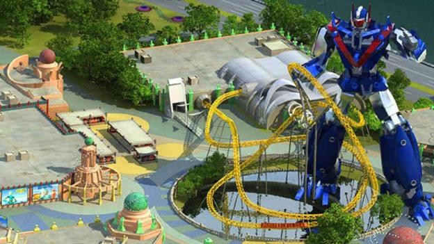 Variants.... What Asian battlefields converted to amusement parks have removed