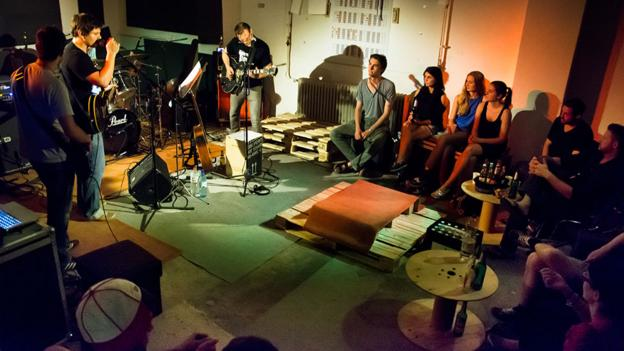 living room concerts.  BBC Culture Berliners open their doors for ultra intimate concerts