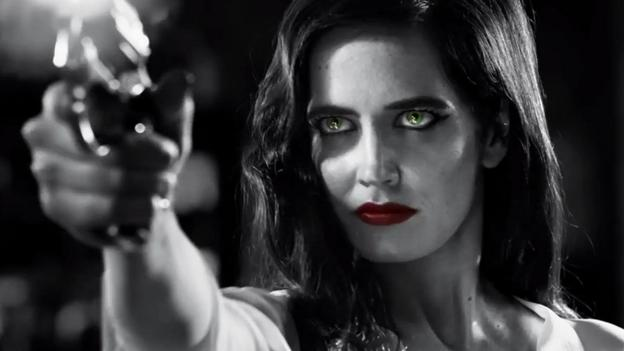 52f747347 BBC - Culture - Sin City s Eva Green and femme fatales  sexy history