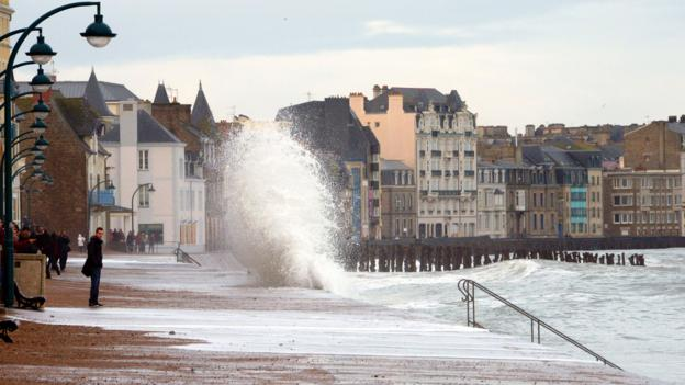 Bbc Travel Danger Saint Malo And The Highest Tides In Europe