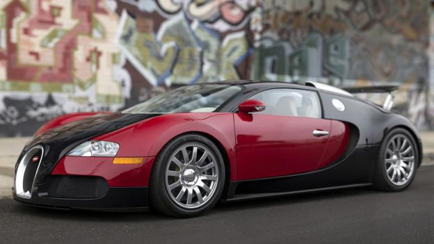bbc autos for sale a most singular bugatti veyron 16 4. Black Bedroom Furniture Sets. Home Design Ideas