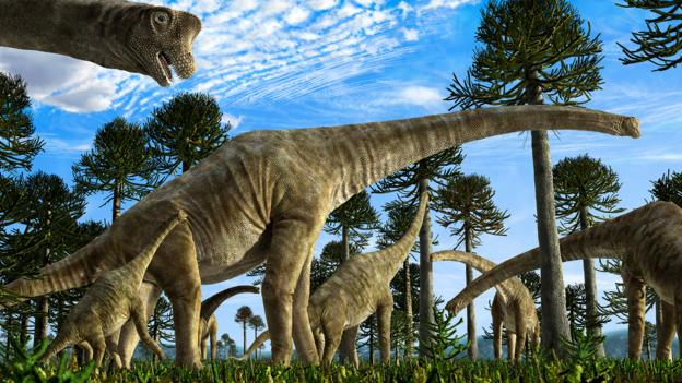 Bbc Earth Meet The Most Massive Dinosaur To Ever Stomp