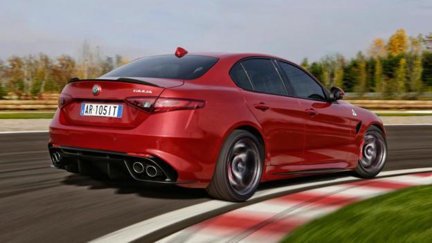 2017 Alfa Romeo Giulia 20T AWD Test  Review  Car and Driver