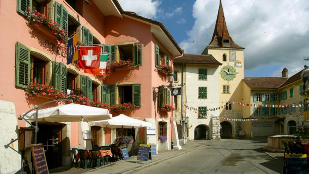A lifelong romance sparked in a sleepy Swiss village