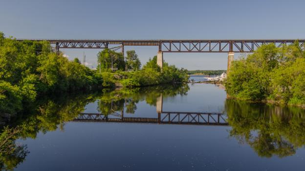 Ontario, Canada, bridge, railroad (Credit: Credit: Sarah Hewitt)