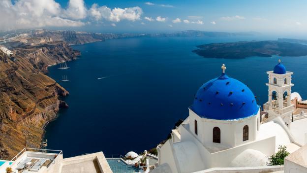 Santorini: an archetypal Greek island fantasy