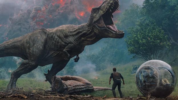 BBC - Culture - Jurassic World: Fallen Kingdom – 'rollicking popcorn ...