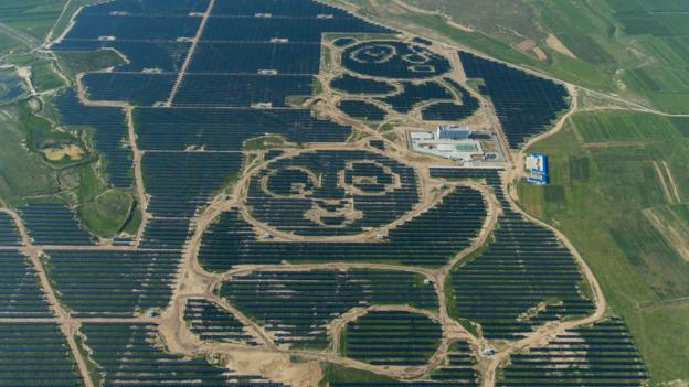 Bbc Future How China S Giant Solar Farms Are