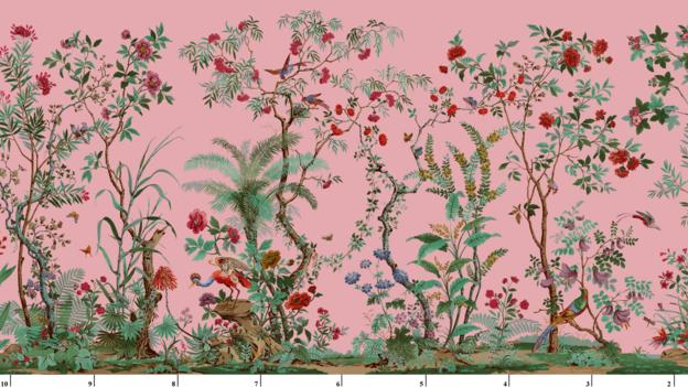 The surprising story of wallpaper