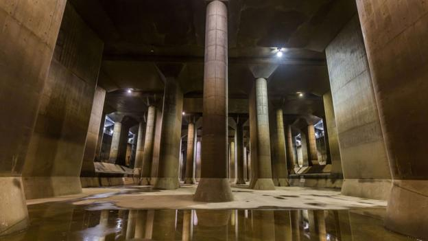 BBC - Future - The underground cathedral protecting Tokyo from floods