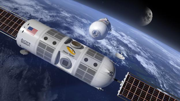 Bbc Future Would You Want To Stay In A Space Hotel