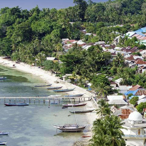 Banda Run, island, Indonesia, Spice Island (Credit: Credit: NNehring/Getty Images)