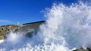 It's estimated that 10% of Europes wave power could be produced off the Scottish coast