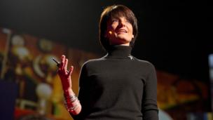 Regina Dugan at TED (Copyright: TED)