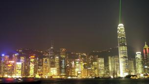 Hong Kong skyline (Copyright: Getty Images)