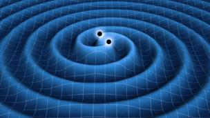 Neutron stars creating gravitational waves