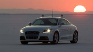 Shelley, the autonomous car (Copyright: Audi)