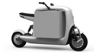 Lit Motors electric cargo scooter