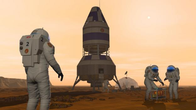 Would you take a one-way trip to Mars? (Copyright: Science Photo Library)