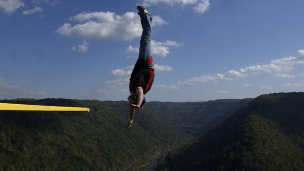 Base jumping can be risky - but how many micromorts is it? (Copyright: Getty Images)