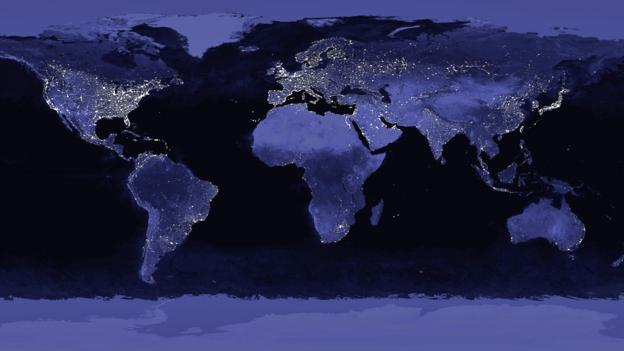 A view of the earth at night can be revealing (Copyright: SPL)