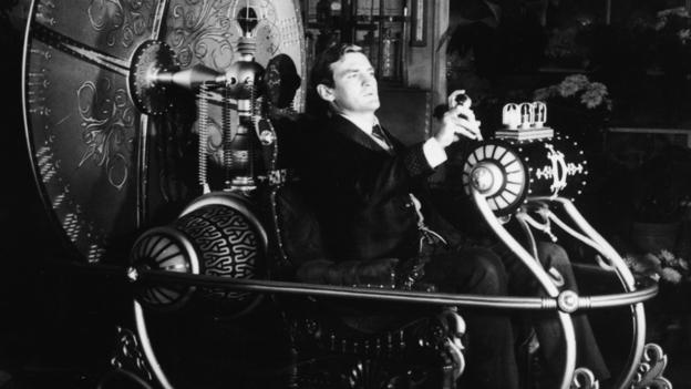 We like to make heroes, such as Rod Taylor in the 'The Time Machine' (Copyright: Getty)