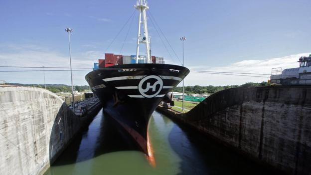 The Panama Canal's locks constrain the size of any ship entering (Copyright: Getty Images)
