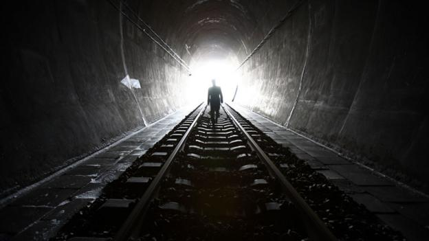 Railway tunnel, China (Copyright: Getty Images)