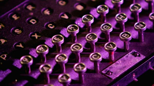 Enigma coding machine (Copyright: Getty Images)