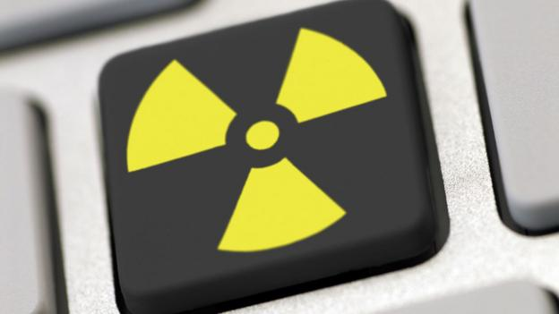Nuclear button (Copyright: SPL)