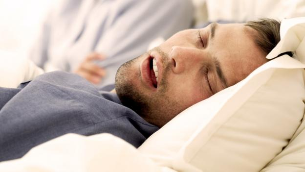 Can the sound of snoring reveal an illness?
