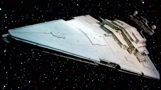 Imperial Star Destroyer (Courtesy of Jemsweb on Flickr)