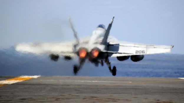 US Navy Super Hornet (Getty Images)