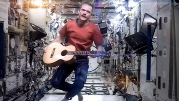 Space Oddity, Chris Hadfield and the law in space