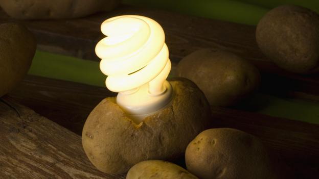 马铃薯发电 - 雪山 - .