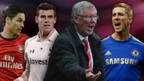 Mikel Arteta, Gareth Bale, Sir Alex Ferguson and Fernando Torres