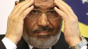 Egyptian President Mohammed Morsi. Photo: May 2013