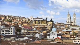Quito old town centre