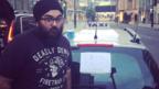 Taxi driver AJ Singh