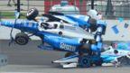 Scott Dixon crashes
